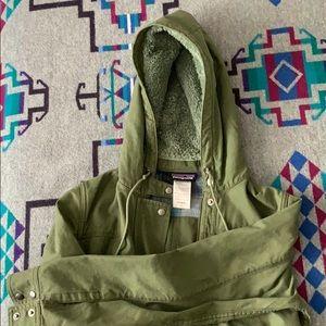 Patagonia Prairie Dawn 100% cotton jacket